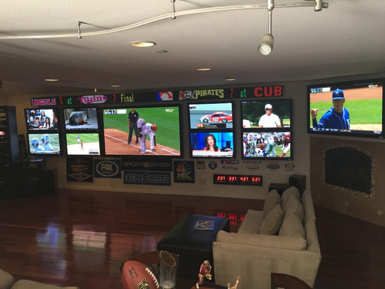 sports ticker for man cave